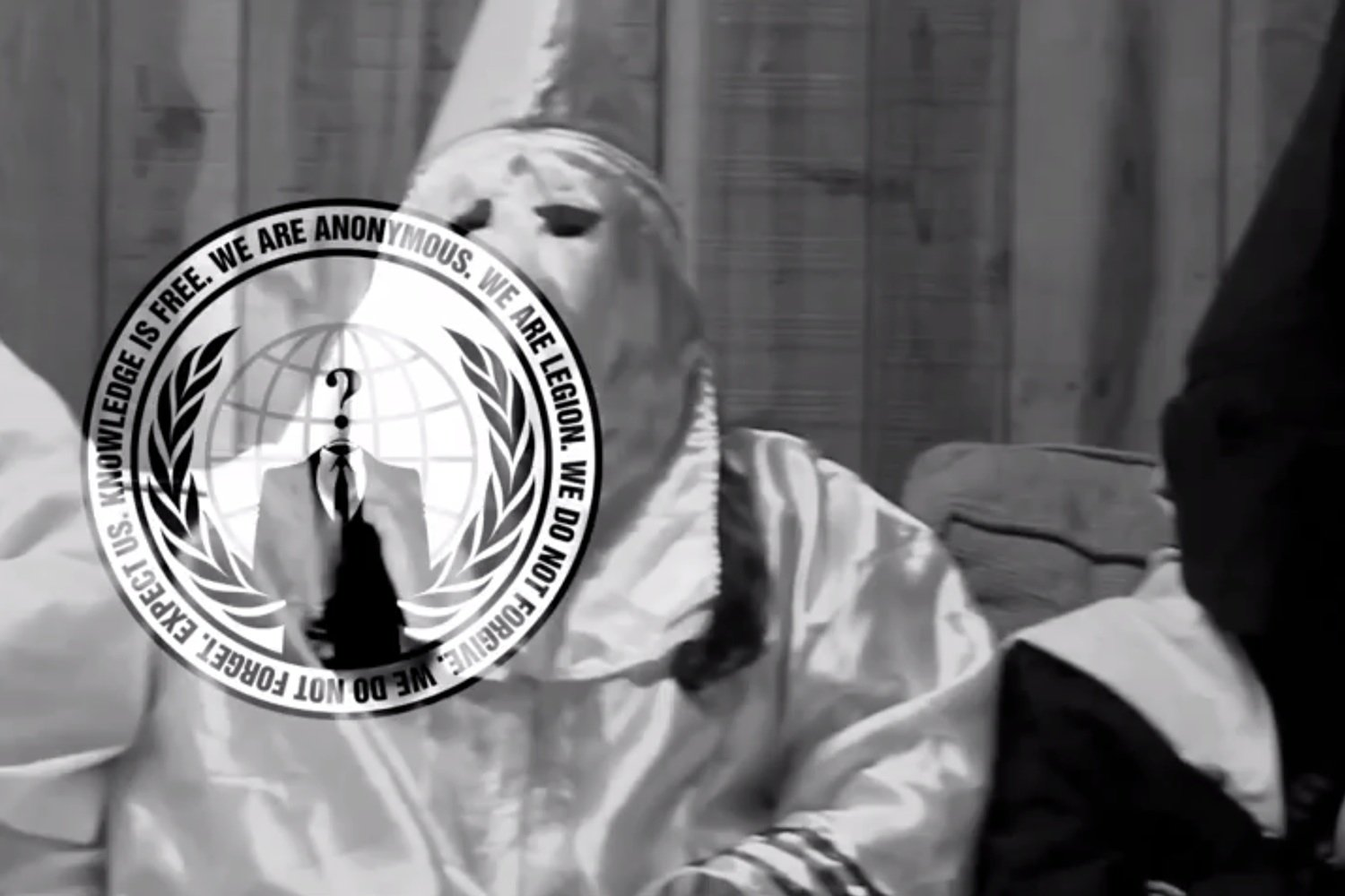 The KKK Just Got Hilariously Hijacked By Anonymous