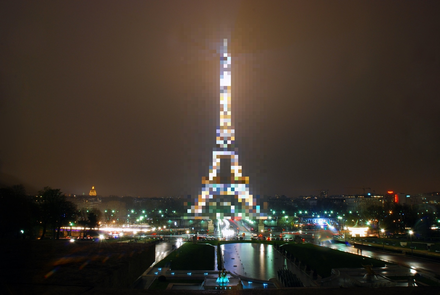 Don't Upload Pictures of The Eiffel Tower To Facebook!