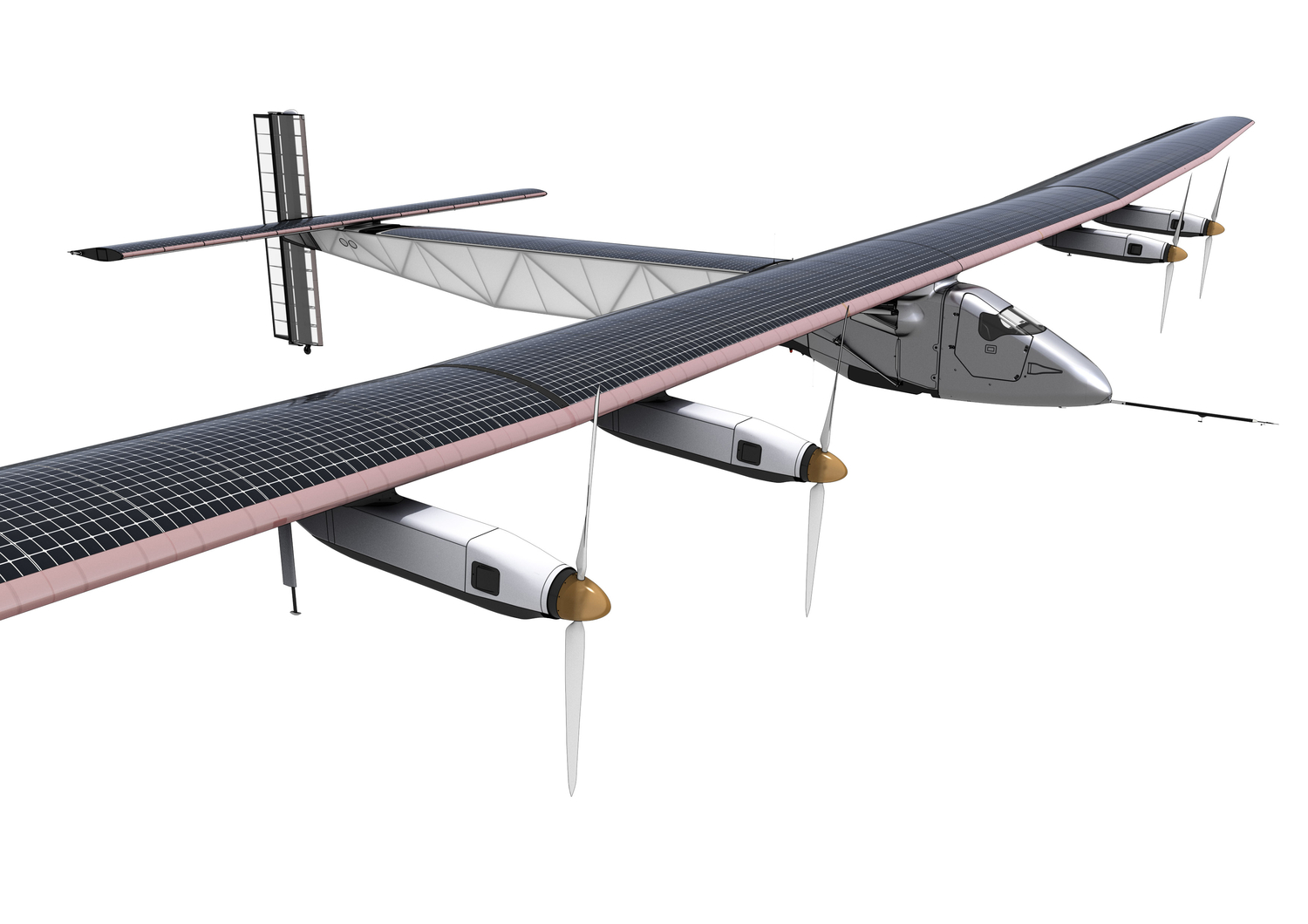 The World's First Solar Powered Plane Takes Flight
