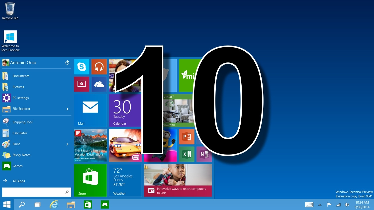 Why, Oh Why, Is It Called Windows 10?