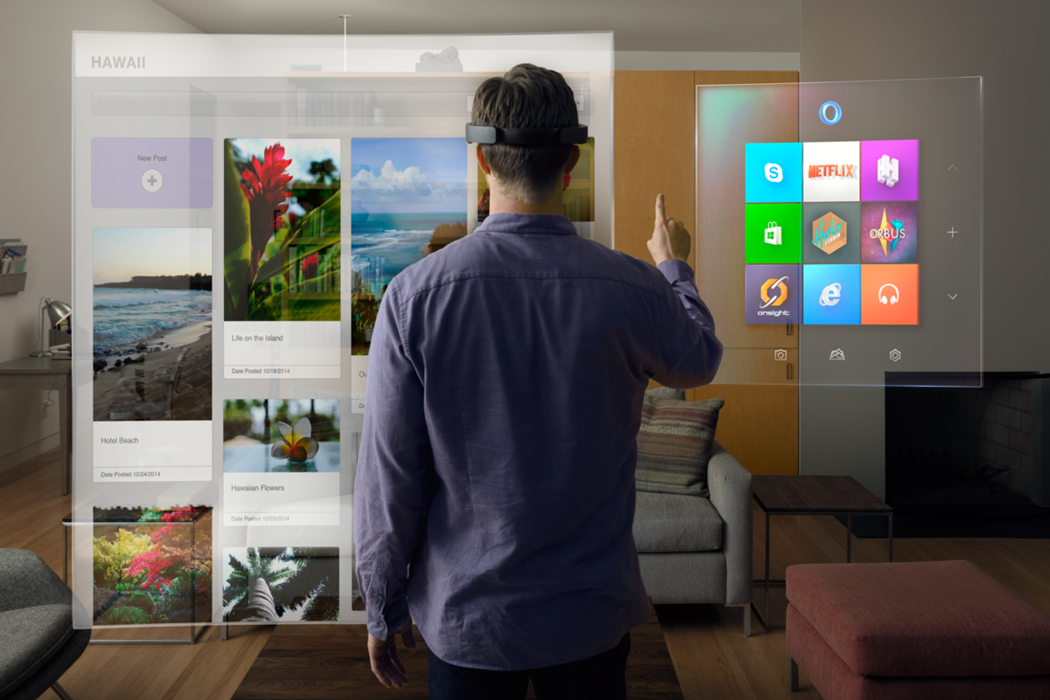 Why Microsoft's HoloLens Is The Next Big Thing