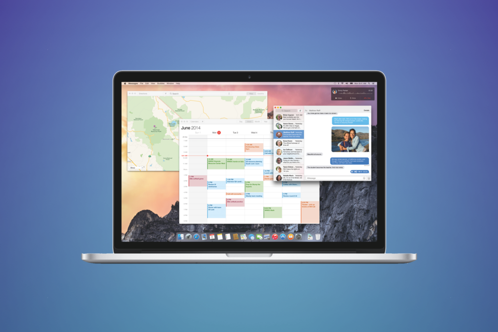 New OSX Yosemite Takes Aim At Google