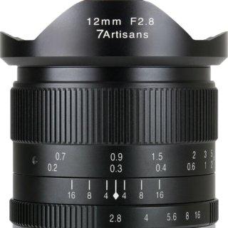 7artisans 12mm f/2.8