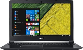 "Acer Aspire 7 15.6"" Intel Core i7-7700HQ 2.8GHz / 8GB RAM / 128GB SSD + 1TB HDD"