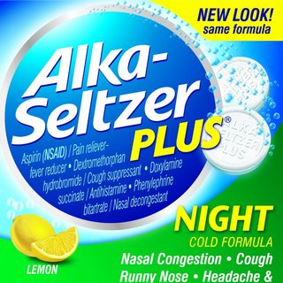 Alka-Seltzer Plus Night Cold