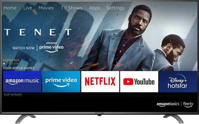 "AmazonBasics Fire TV 4K AB50U20PS 50"""