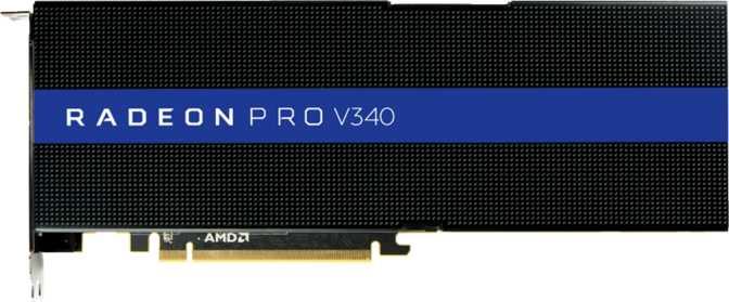 AMD Radeon Pro V340 MxGPU