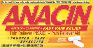 Anacin Regular Strength Caplets