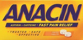 Anacin Regular Strength Tablets