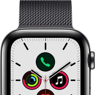 Apple Watch Series 5 GPS + Cellular Stainless Steel Case 40mm