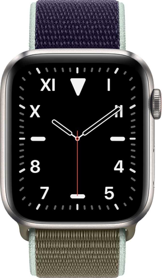 Apple Watch Series 5 GPS + Cellular Titanium Case 44mm