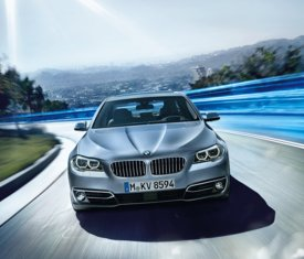 BMW ActiveHybrid 5 (2014)