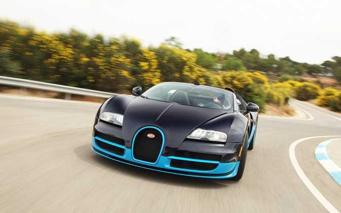 Bugatti Veyron 16.4 Grand Sport (2013)