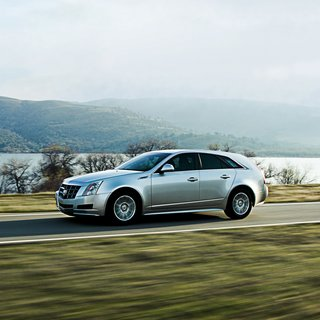 Cadillac CTS Sport Wagon Luxury (2014)