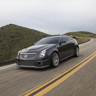 Cadillac CTS-V Coupe (2014)