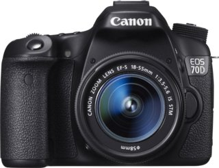 Canon EOS 70D + Canon EF-S 18-55mm f/3.5-5.6 IS STM