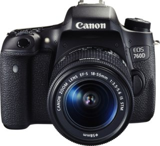 Canon EOS 760D + Canon EF-S 18-135mm F/3.5-5.6 IS STM
