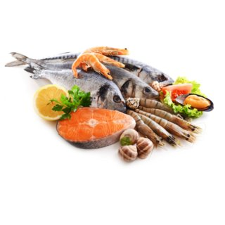 Chum Salmon (canned, salted, drained, with bones)