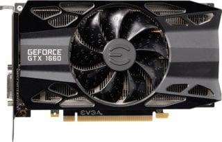 EVGA GeForce GTX 1660 XC Black Gaming
