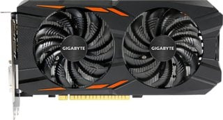 Gigabyte GeForce GTX 1050 Ti WindForce X2 OC