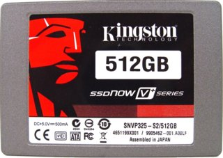 Kingston SSDNow V+ Series 512GB