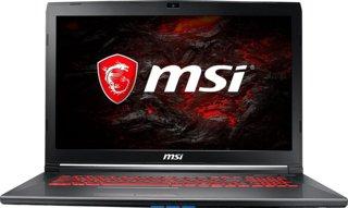 "MSI GF72 7RE 17.3"" Intel Core i7-7700HQ 2.8GHz / Nvidia GeForce GTX 1050 Ti Laptop / 16GB RAM / 256GB SSD"