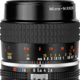 Nikon Micro-Nikkor 55mm F/2.8