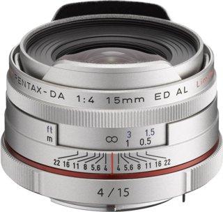 Pentax HD DA 15mm F4 ED AL Limited