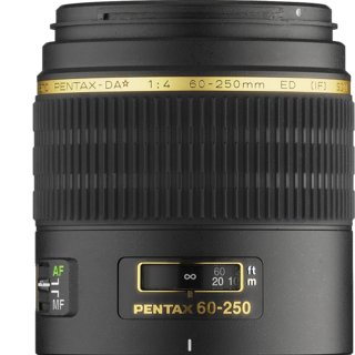 Pentax smc DA* 60-250mm F/4 ED IF SDM