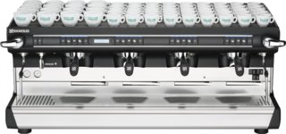 Rancilio Classe 9 USB Tall 4 Group