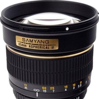 Samyang 85mm F/1.4 AS IF UMC