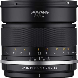 Samyang MF 85mm f/1.4 Mk2