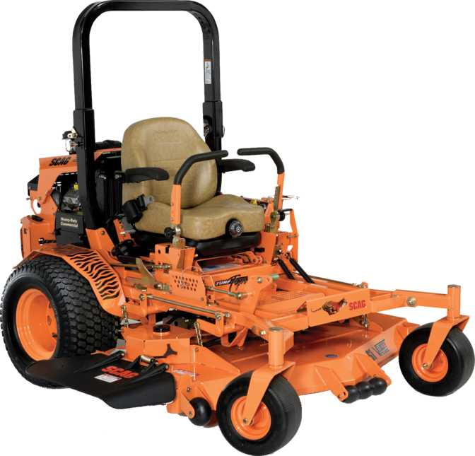 Scag Turf Tiger Propane Powered 52