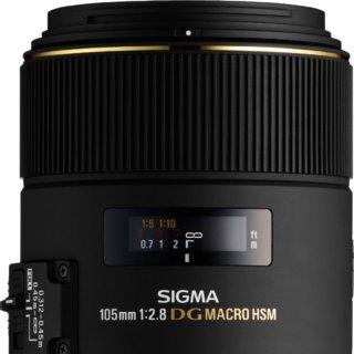 Sigma 105mm F2.8 EX DG OS HSM Macro