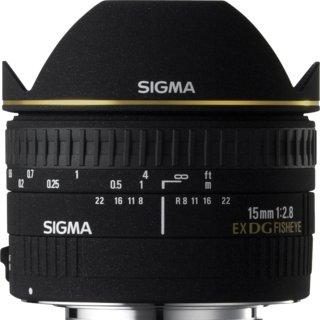 Sigma 15mm F2.8 EX DG Diagonal Fisheye