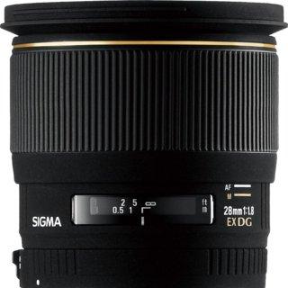 Sigma 28mm F1.8 EX DG ASP Macro
