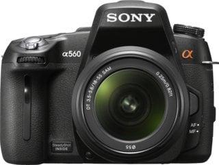 Sony A560 DSLR + Sony DT 18-55mm/ F3.5-5.6 SAM