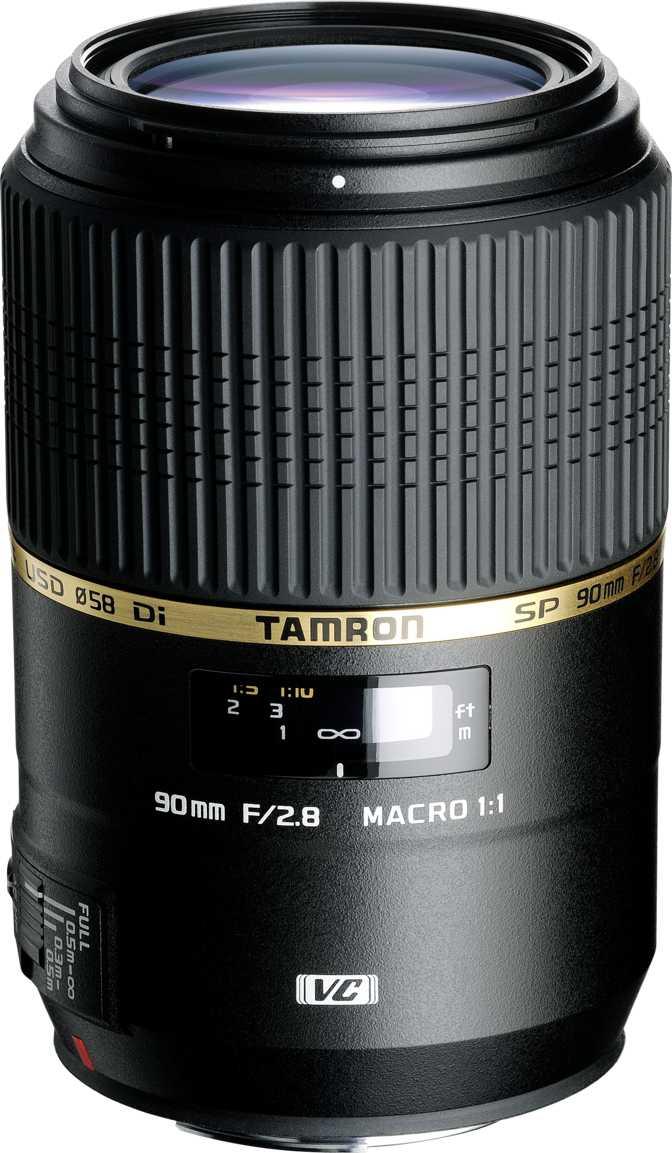 Tamron SP 90mm F/2.8 Di VC USD 1:1 Macro