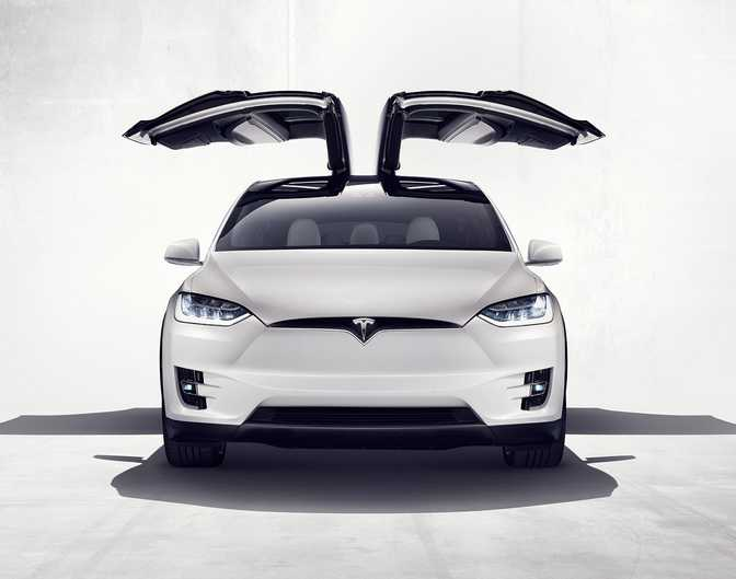 Tesla Model X 75D (2016)