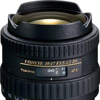 Tokina 10-17mm F/3.5-4.5 AT-X DX Fisheye