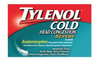 Tylenol Cold Head Congestion Severe