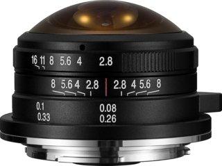 Venus Laowa 4mm f/2.8 Fisheye MFT