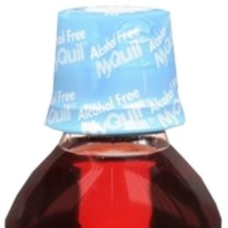 Vicks Alcohol-Free NyQuil Cold & Flu Nighttime Relief Liquid