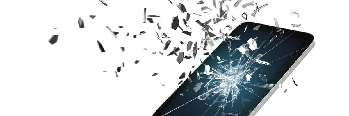 Damage-resistant glass