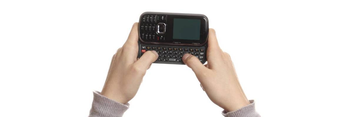 Physical QWERTY keyboard
